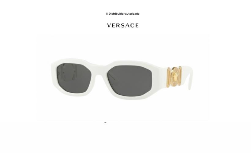 Gafas de sol Versace Biggie White