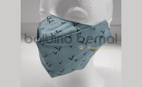 Mascarilla 3D pájaros