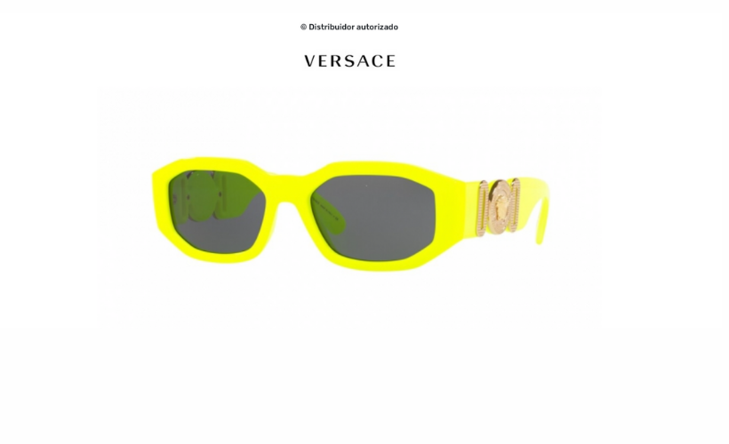 Gafas de sol Versace Biggie Yellow Fluo