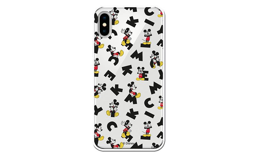 Funda transparente Mickey Letras - Disney