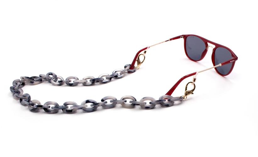 Cadena para gafas Stone Black Grey