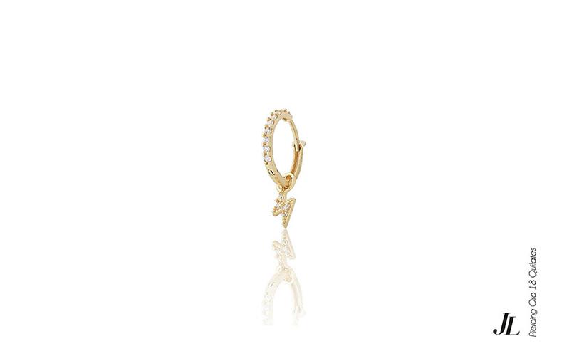 Piercing oreja oro 18 quilates