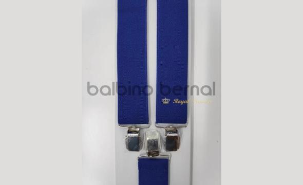 Tirante básico azulina liso