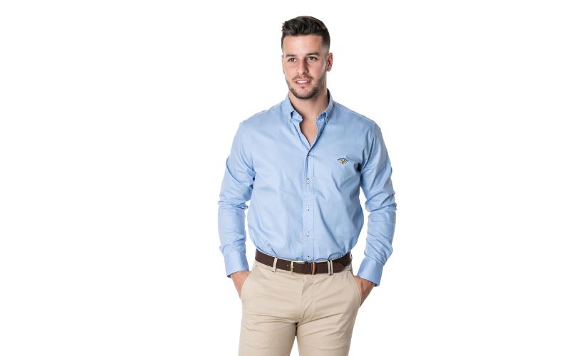 Camisa tejido gabardina con 15% dto