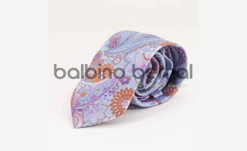 Corbata cachemir multicolor
