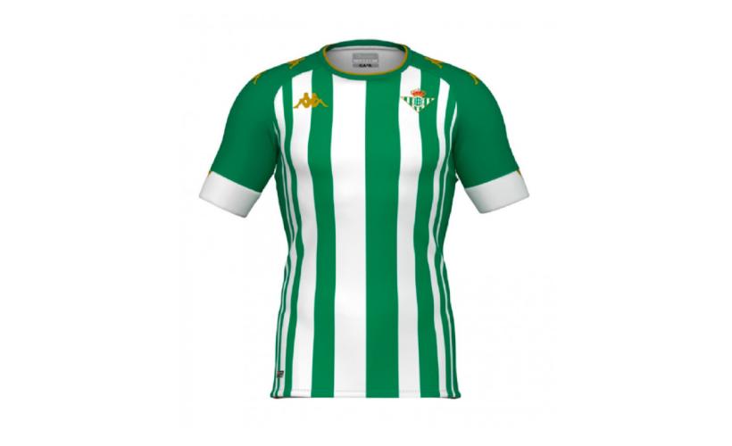 Camiseta Kappa Real Betis con 5% de descuento