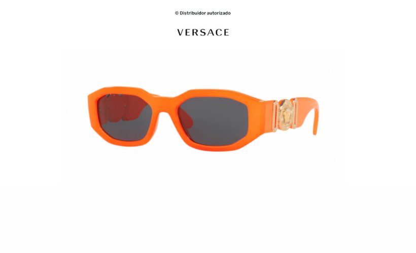 Gafas de sol Versace Biggie Orange Fluo